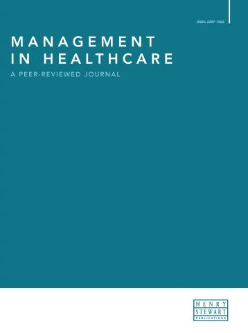 Management in Healthcare: A Peer-Reviewed Journal | Henry Stewart